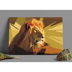 Poster Leão Alta Qualidade