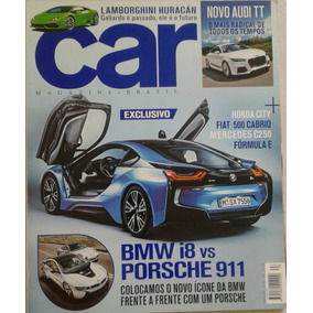 Revista Car Magazine Brasil Exclusivo Bmw I8 Vs Porsche 911