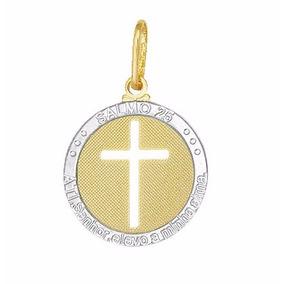 Medalha De Ouro 18k Cruz Vazada - Joias e Relógios no Mercado Livre ... 7696e547d5