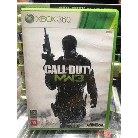 Jogo Call Of Duty Mw3 Xbox 360 Original Semi Novo