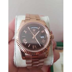Relógio Automatico Com Caixa E Certificados Luxo Unissex