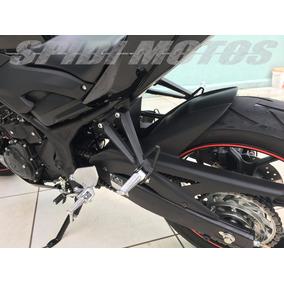 Paralama Traseiro Yamaha Mt-03 Mt 03 Mt03 Em Preto Fosco
