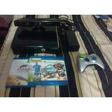 Xbox 360 Slim 250gb Chipeado Lt 3.0 + Kinect + Control