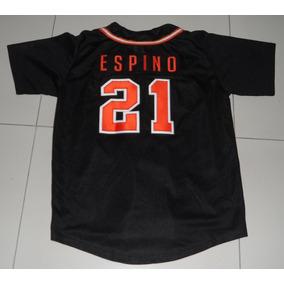 Jersey Camisola Naranjeros Hermosillo Hector Espino Beisbol 45f308c69b36f
