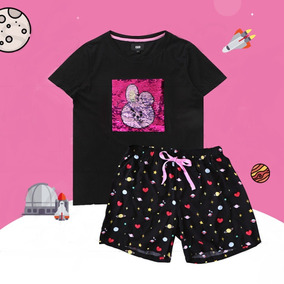 Bt21 Bts Pijamas Premium Oficial Van Chimmy Mang Tata Suga