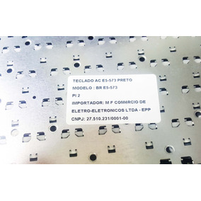 Teclado Para Notebook Acer E5-573 Black