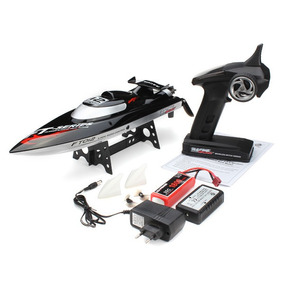 Lancha Controle Remoto Ft012 Complet Motor Brushless + Lipo