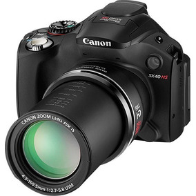 Câmera Canon Powershot Sx40 Hs + Cartão Memória + Carregador