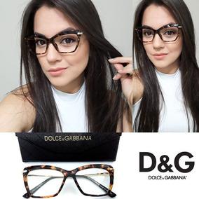 Oculos Dolce E Gabbana Replica - Óculos no Mercado Livre Brasil 7e9c8dd1c3