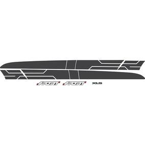 Faixa Lateral Ford Ranger Xls Sport Grafite 2013 90081