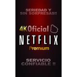 Tienda Netflix Seriedad Y Sin Sorpresas Four Device Service