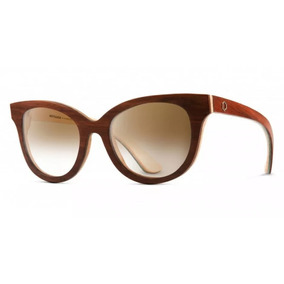 Óculos De Madeira Notiluca Linho Marrom Zebrado Vermelho. São Paulo · Óculos  De Sol Notiluca Sinhá 57be752146