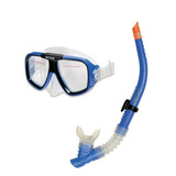 Kit 2 Und Mergulho Óculos Máscara Snorkel Intex Profissional