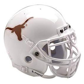 Ncaa De Texas Longhorns De Colección Mini Casco De Fútbol A 20efd56e276