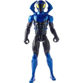Boneco Mattel Blue Beetle Articulado Original 30 Cm