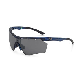 3ed4fe6ad912a Óculos De Sol Mormaii Athlon V Brilho   Azul-cinza-prata