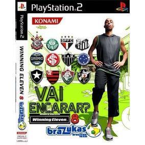 04dc3c4e72 Winning Eleven 8 Brazukas - PlayStation 2 no Mercado Livre Brasil