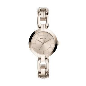 Relógio Feminino Fossil Dourado 2 Anos De Garantia Original