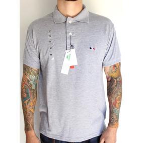 Camisa Polo Lacoste Masculina Cinza Tam M - Primeira Linha! 0c9cd580befac