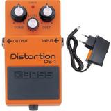Pedal Boss Ds 1 Distortion Ds1 C Fonte Loja Credenciada Kadu