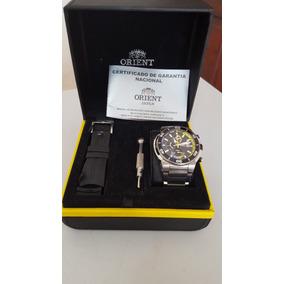 Relógio Orient Seatech Yatchtimer *titanium Mbttc007