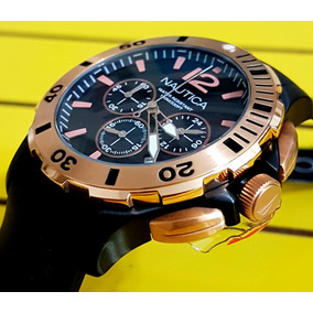 Relógio Nautica Lançamento A19556g Original.
