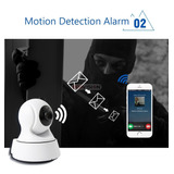 Camera De Segurança Ip Panorâmica Visão Noturna Wifi 720hd