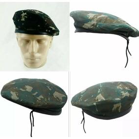 Boina Camuflada Militar - Boinas para Masculino no Mercado Livre Brasil 73fdaf491c6