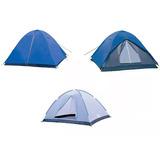 Barraca Camping Ntk Fox 7/8 Pessoas C/ Sobreteto Impermeavel