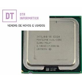 Processador Dual Core E2220 Socket 775+cooler