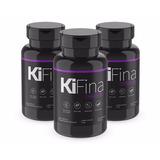 Combo Emagrecedor Kifina 3 Potes Com 60cps Cada + Frete Free