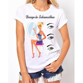 Camisas Profissões - Designer De Sobrancelha