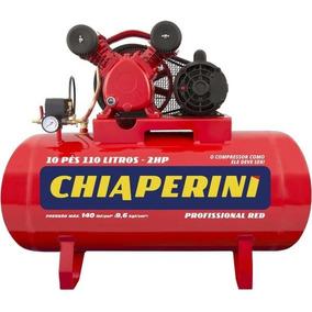 Compressor De Ar 10/110l Red C/mm 2hp 100/220v