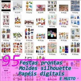 3fa43a6f62321 Projetos Prontos Para Silhouette Cameo, 16gb De Arquivos! - Arte e ...