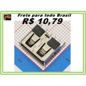 Conector Usb Femea Pioneer Hbuster Lenoxx Radio Kit 6 Pecas