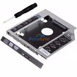 Caddy Adaptador Case Laptop 2do Disco Ssd O Sata 3.0 12.7mm