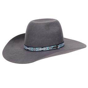 Chapéu Em Feltro Cinza Texas Diamond 20781 66d455d799e