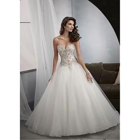 Vestidos de novias corte princesa con corset