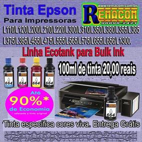 Tinta Epson 100ml De Tinta 664