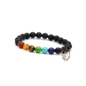 Pulsera Brazalete Yoga Shakras Energia Meditacion 7 Shakra