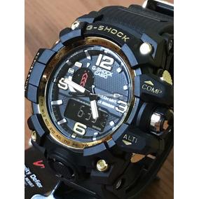 8d02c32cdf4 Relógio Exclussivo Barato Masculino Analógico E Digital + Cx