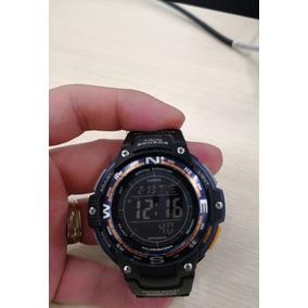 b1847c57d1d4 Reloj Casio Sgw 100 Termometro Brujula 200 Metros Wr
