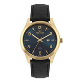 Relógio Technos Masculino Pulseira De Couro 2115mrx/2a