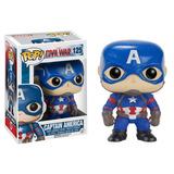 Funko Pop Marvel #125 Civil War Captain America Nortoys