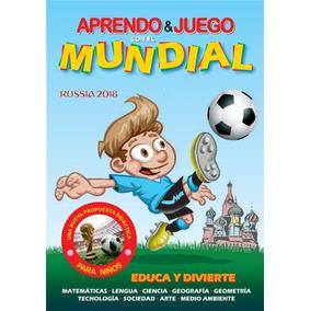 Libro Aprendo Y Juego Con El Mundial 2018