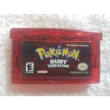 Pokemon Ruby Version Gba Nintendo Original Si Graba.