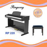 Pianol 88 Teclas Con Peso Ringway Rp220 Asiento Incluído!!!