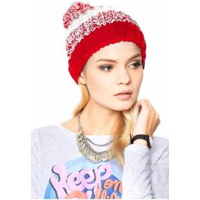 Gorros Obey Lana Con Pompom - Ropa y Accesorios Rojo en Mercado ... 493c480ec41