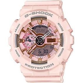 1409a6b1bd9a Casio G-shock Oro Y Rosa Dial Rosa Resina Cuarzo Ladies Watc