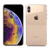 Iphone Xs Max 64gb Dourado A2101 Novo